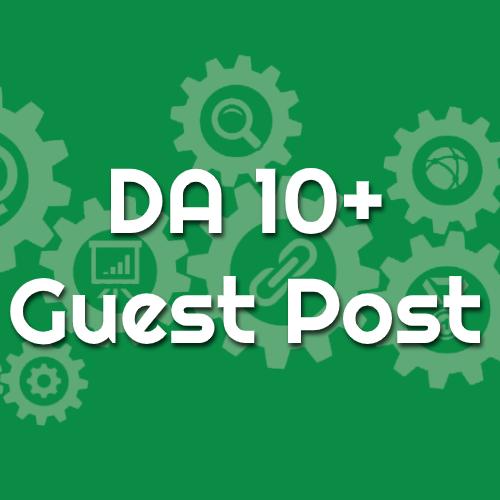 DA 10 Guest Post