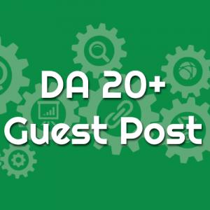 DA 20 Guest Post