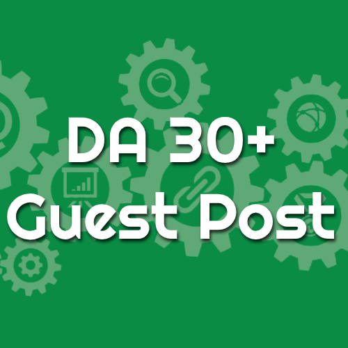 DA 30 Guest Post